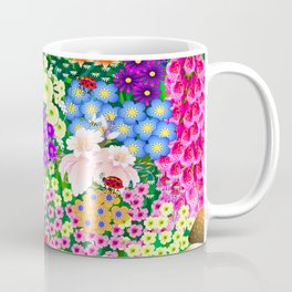 Flower Garden and Bugs Coffee Mug