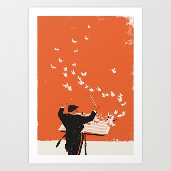 Managing Change Art Print