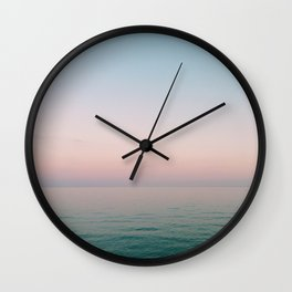 Summer Road Trip Wall Clock