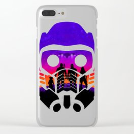 Guardians of the Galaxy [v.2] Clear iPhone Case