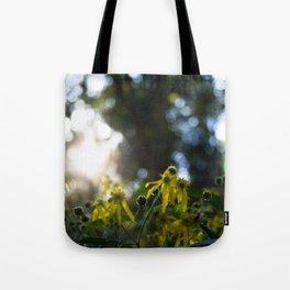 Sunny Bokeh Tote Bag