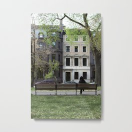 Nature + Architecture = Beauty. Metal Print
