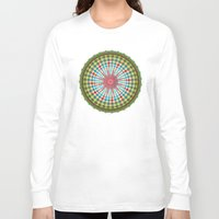 health Long Sleeve T-shirts featuring Health Mandala - מנדלה בריאות by dotan yiloz