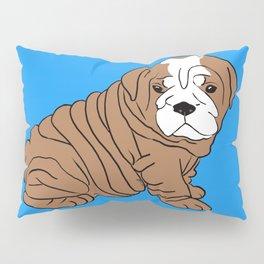 Bulldog Puppy Pillow Sham