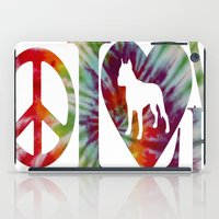 pitbull iPad Cases featuring PITBULL by AR PHOTOGRAPHY & GRAPHIC DESIGN
