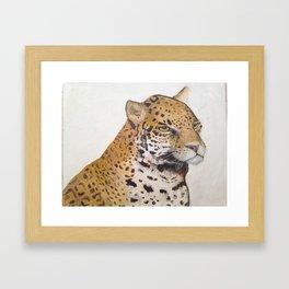 Jag Jag Framed Art Print