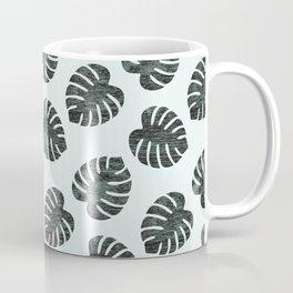 Monstera Pattern Coffee Mug