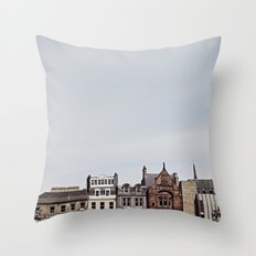 A Beautiful Day in Scotland Throw Pillow
