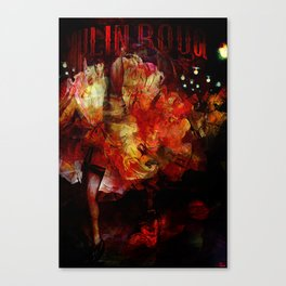 French cancan Canvas Print