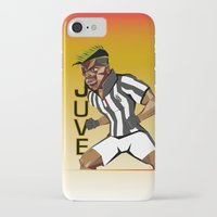 juventus iPhone & iPod Cases featuring MusclePogba by Miguel Angel Illustrations