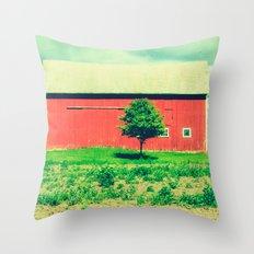 Nicholson barn (2)  Throw Pillow