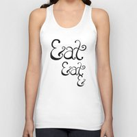 eat Tank Tops featuring Eat&Eat& by BarakTamayo