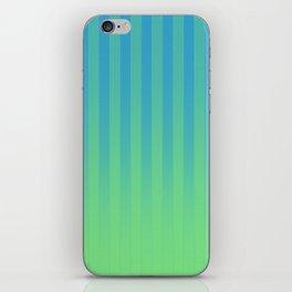 Gradient Stripes Pattern bg iPhone Skin