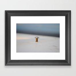 Boca Bay Pier Framed Art Print