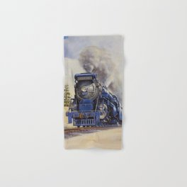 The Seashore's Finest Train Hand & Bath Towel