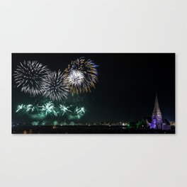 Blackheath Fireworks Canvas Print