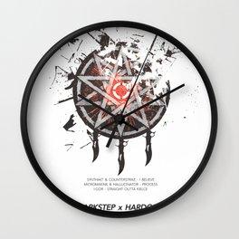 CROSSBREED Wall Clock