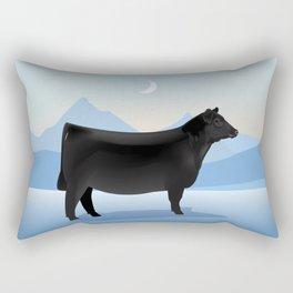 Angus Winter Rectangular Pillow