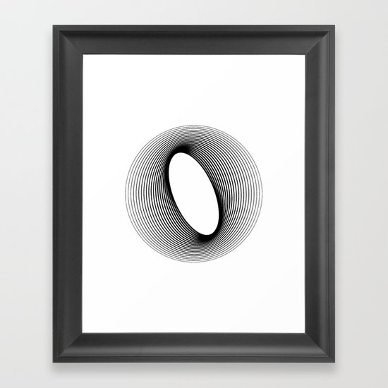 O like O Framed Art Print
