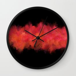 Pink Passion Explosion Wall Clock