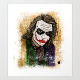 Why so serious? Art Print