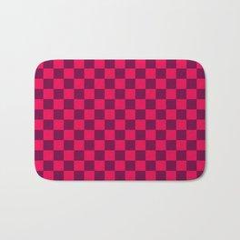 Checkered Pattern IV Bath Mat
