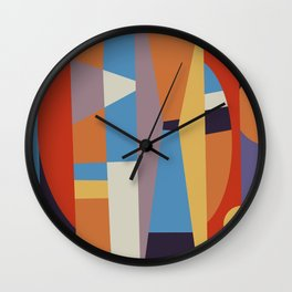 Abstract I Wall Clock