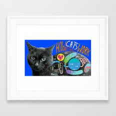 You thought! Framed Art Print