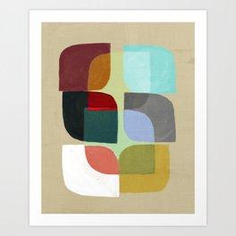 Color Overlay Art Print