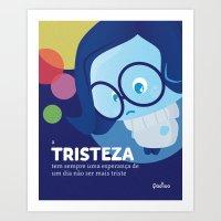 Tristeza Nova Art Print