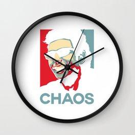 Ian Malcolm Chaos Wall Clock