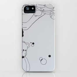 Ink Bubble Dream iPhone Case