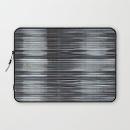 Rain Streaked Metal Stripes Laptop Sleeve