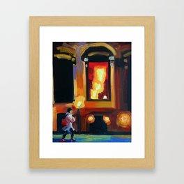 Hanover Square Framed Art Print