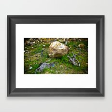 The Amazon Rock - Amazon, Brazil Framed Art Print