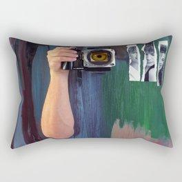 Les Yeux  Rectangular Pillow