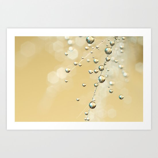 Fairy Dust Drops Art Print