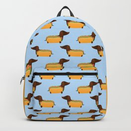 Wiener Dog in a Bun Backpack