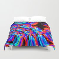 philosophy Duvet Covers featuring Omni-Centric Philosophy by David  Gough
