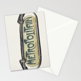 Metropolitain Stationery Cards