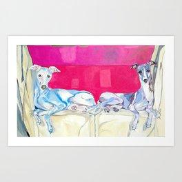 Cheyenne & Chandra Art Print