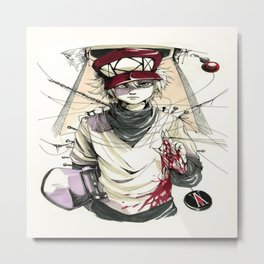 Hunter X Hunter Killua 2 Metal Print