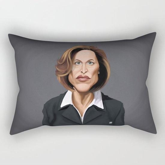 Celebrity Sunday ~ Gillian Anderson Rectangular Pillow
