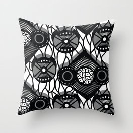 Far East Throw Pillow