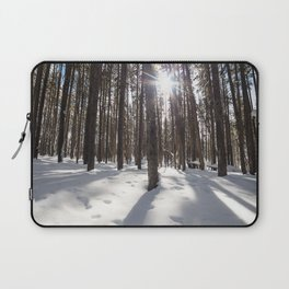 Yellowstone National Park - Lodgepole Forest 2 Laptop Sleeve