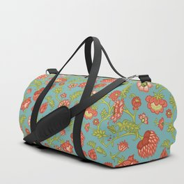 Rococo Floral Pattern #2 Duffle Bag