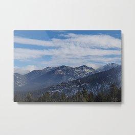 The Mountains of Lake Tahoe Metal Print