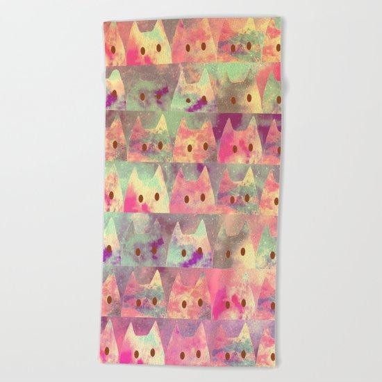 cats-132 Beach Towel