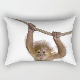 Monkey Style Rectangular Pillow