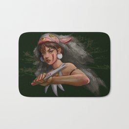 Lady of the Forest Bath Mat